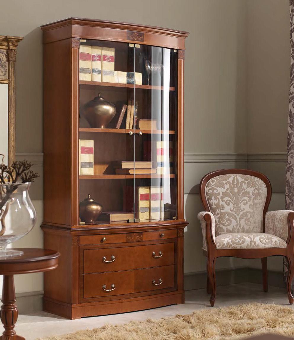 """Испанский книжный шкаф """"panamar libreria no.1"""" - мебель итал."""